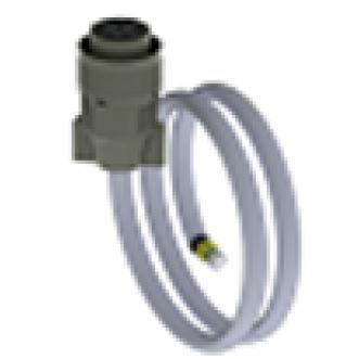 Роз'єм 10-ти контактний AMPHENOL  (штекер)