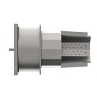 Корпус пальника з колосником та керамікою PellasX 190 кВт