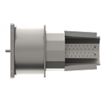 Корпус пальника з колосником та керамікою PellasX 260 кВт