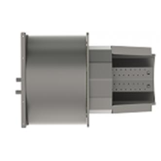 Корпус пальника з колосником та керамікою PellasX 500 кВт